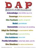 Developmentally Appropriate Practice Poster