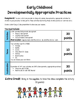 Developmentally Appropriate Practices Project