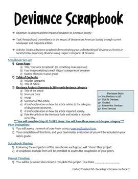 Deviance Scrapbook
