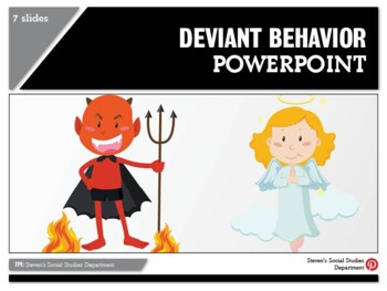 Deviant Behavior PPT