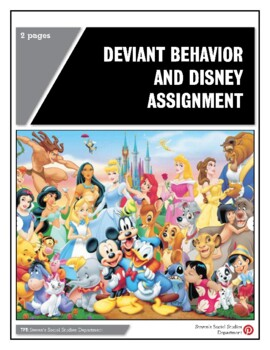Deviant Behavior and Disney Assignment