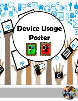 Device Usage Poster (Editable)