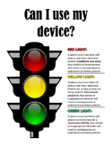Device Use Traffic Light