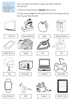 Devices Worksheet