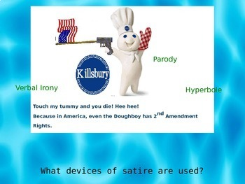 Satire and Satirical Devices PowerPoint