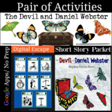 Devil and Daniel Webster Pair of Activities Great for Dist