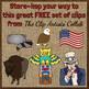 Devil's Tower American West Clip Art - Freebie!