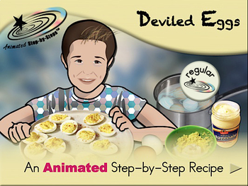 Deviled Eggs - Animated Step-by-Step Recipe