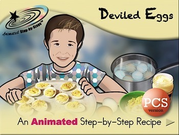 Deviled Eggs - Animated Step-by-Step Recipe PCS