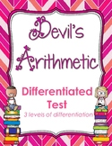 Devil's Arithmetic by Jane Yolen Differentiated Test