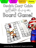 Devin's Cozy Cabin! (A Syllable Division Game for VC/V and V/CV)