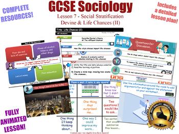 Devine & Life Chances (II) - Social Stratification [GCSE Sociology - L7/20]