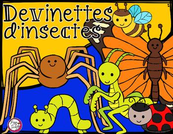 Devinettes d'insectes ☼ Qui suis-je?