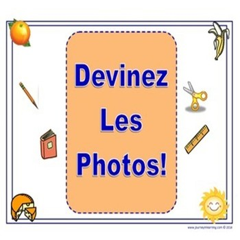 Devinez Les Photos!