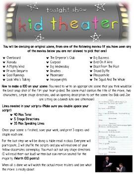 Devising Theatre - Kid Theatre