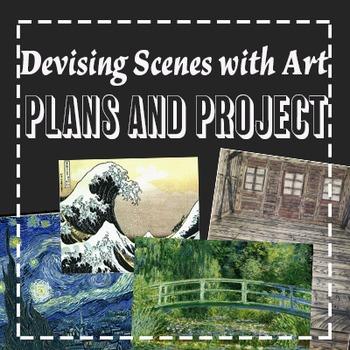 Devising Theatre Scenes with Art