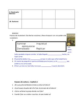 Devolver al Remitente-preguntas, repaso, dibujos