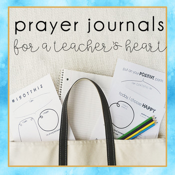 Devotionals and Prayer Journal Templates for Teachers