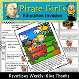 Devotions Weekly: Give Thanks