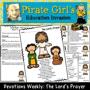 Devotions Weekly: The Lord's Prayer