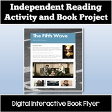 Independent Reading Project: Create an Interactive Flyer for Any Novel or Book!