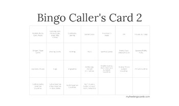 Dewey Bingo - Call Number - Slideshow