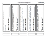 Dewey Call Number Bookmark 010-060
