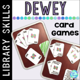 Library Skills Dewey Decimal Card Games for the School Library Media Center