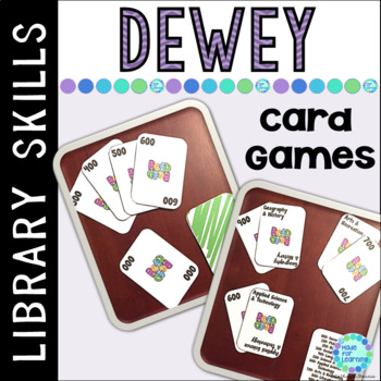 Dewey Decimal Card Games for the School Library Media Center