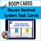 Dewey Clip Cards for the Library with BOOM Card Option --