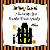 Dewey Dare?  A Haunted Nonfiction Activity Perfect for Halloween!