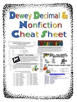 Dewey Decimal Activities