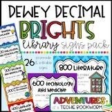 Dewey Decimal BRIGHTS Poster Pack