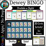 Dewey Decimal Bingo Game Great for Upper Elementary and Middle School
