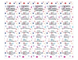 Dewey Decimal Bookmarks - DOTS