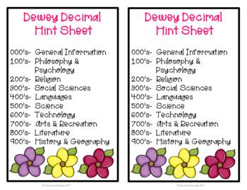 Dewey Decimal Bundle
