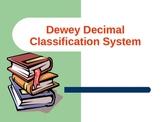 Dewey Decimal Classification System Powerpoint