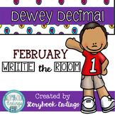 Dewey Decimal February Write the Room
