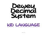 Dewey Decimal Introduction Elementary
