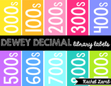 Dewey Decimal Library Labels