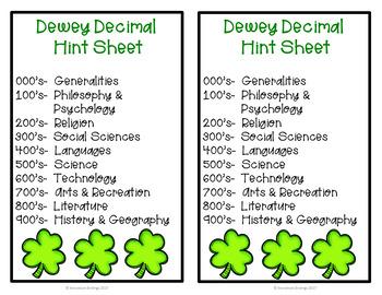Dewey Decimal March Memory Game