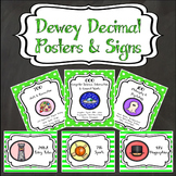 Dewey Decimal Posters and Signs