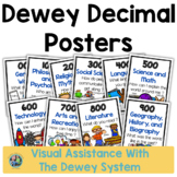Dewey Decimal Posters for the Media Center