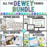 Dewey Decimal BUNDLE: Library Skill Lessons, Activities, Centers, Games