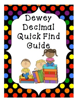 Dewey Decimal Call Number Guide for Nonfiction Section of your Library