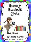 Dewey Decimal Quiz