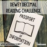Dewey Decimal Reading Challenge - Passport of Information
