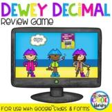 Dewey Decimal Review Activity - Google Edition