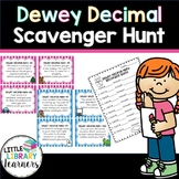 Dewey Decimal Scavenger Hunt