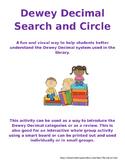 Dewey Decimal Search and Circle: a library activity